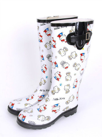 Nina Mew x Hello Kitty 2013 Spring Collection - Rain Boots