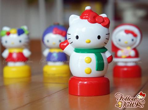 我可愛的Frutips Hello Kitty公仔收藏
