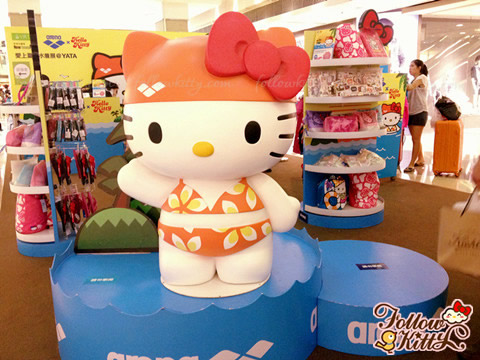 Arena 2013 Hello Kitty Crossover Waterwear