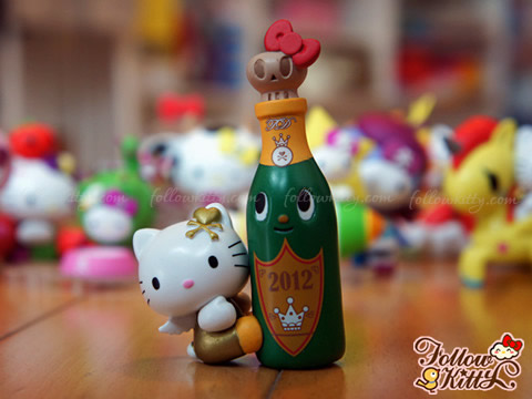 Hong Kong 7-Eleven Tokidoki X Hello Kitty - Champagne Kitty