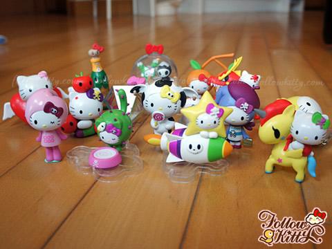 My Hello Kitty x tokidoki Collection