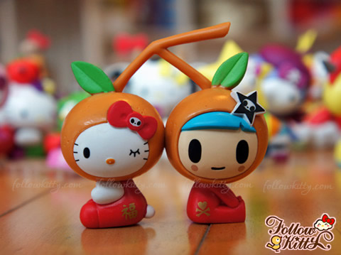 Hong Kong 7-Eleven Tokidoki X Hello Kitty - Tangerine Kitty