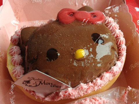 My Mousse au Hello Kitty Chocolate of baby Mon cher