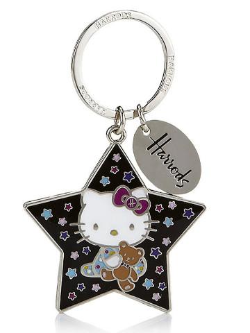 Harrods Hello Kitty Loves Teddy鑰匙扣
