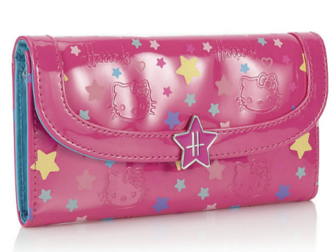 Harrods Hello Kitty Loves Teddy錢包(皮夾)