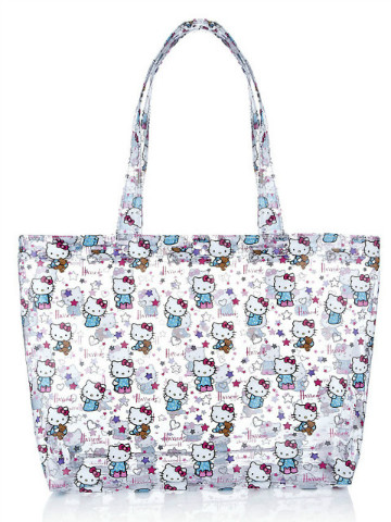 Harrods Hello Kitty Loves Teddy 大Tote Bag