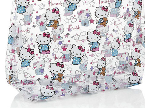 Harrods Hello Kitty Loves Teddy透明系列的細節圖