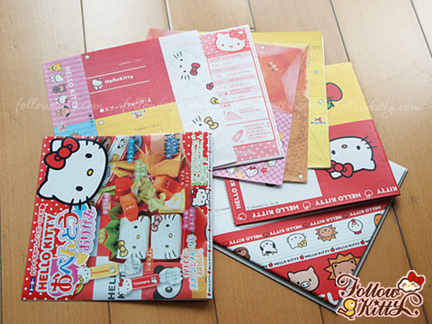 Hello Kitty Bento Paper Craft Origami