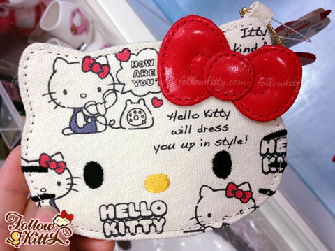 Hello Kitty Canvas Card Holder