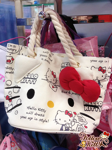 Hello Kitty Small Canvas Tote Bag