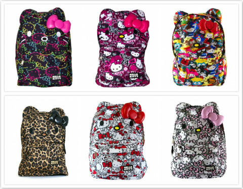 Loungefly New Hello Kitty Crossover Backpacks