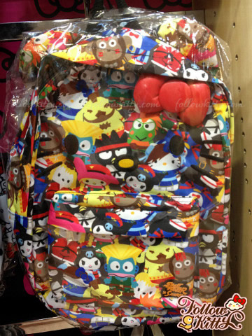 Loungefly Hello Kitty Streetfighter Backpack