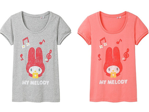 UNIQLO X My Melody Special Graphic T-Shirt Collections