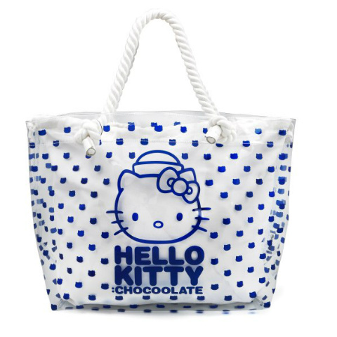 Chocoolate x Hello Kitty 2013 Summer Voyage - Plastic Tote Bag