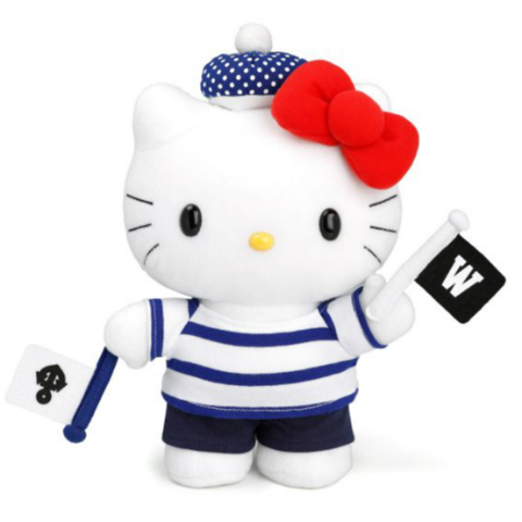 Chocoolate x Hello Kitty 2013 Summer Voyage - Plush Toy
