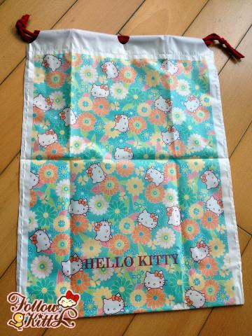 Free Giveaway from followkitty.com - Hello Kitty Beach Drawstring Bag
