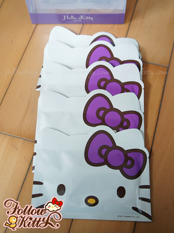 Hello Kitty Grape Seed Facial Masks from Sexylook