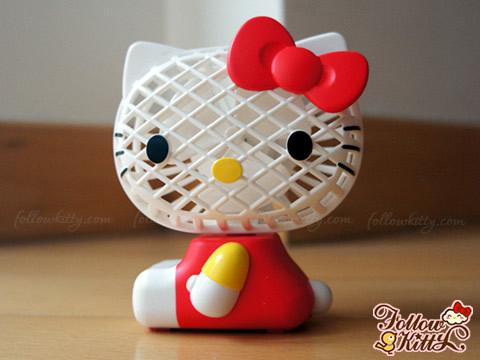Hello Kitty Mini Desk Fan