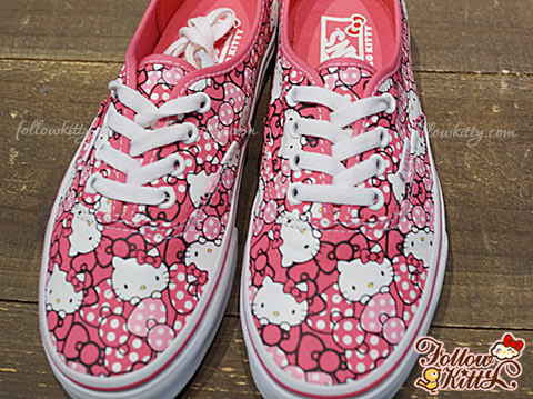 Vans x Hello Kitty 2013 Summer Collection - Classic Authentic