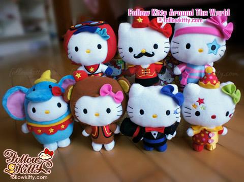 """香港麥當勞""""Circus of Life""""Hello Kitty馬戲團大全套"""