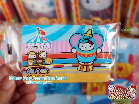 特別版Hello Kitty小笨象為食卡