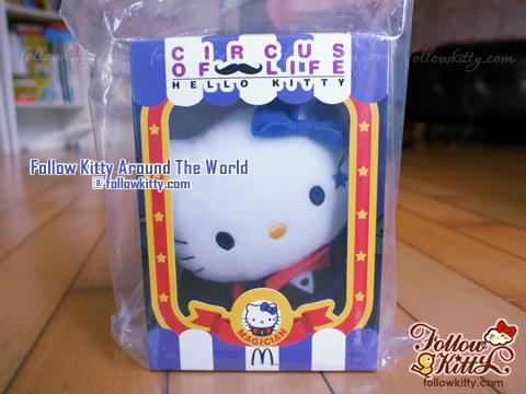 "香港麥當勞""Circus of Life""特別版Hello Kitty魔術師"