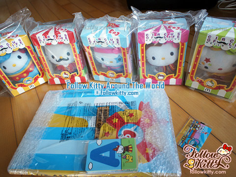 "2013香港麥當勞Hello Kitty馬戲團""Circus of Life"""