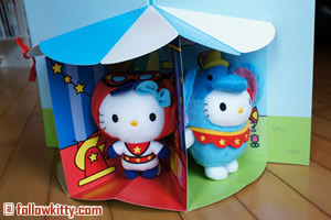 McDonalds Hello Kitty Circus of Life 3D Book Small