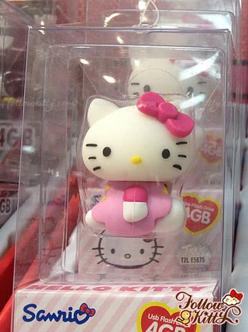 Hello Kitty 3D Silicon Figure USB Flash Drive