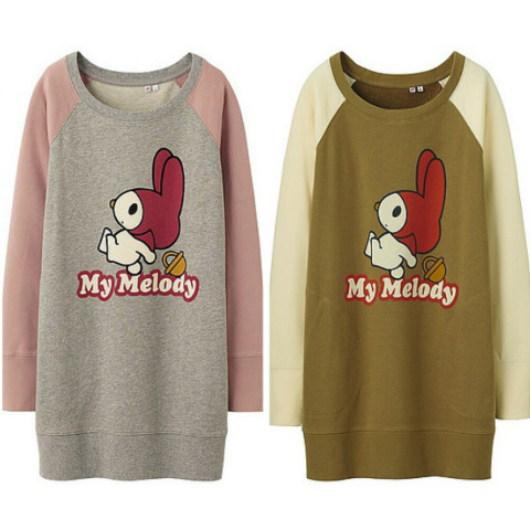 UNIQLO X My Melody Sweat Collections