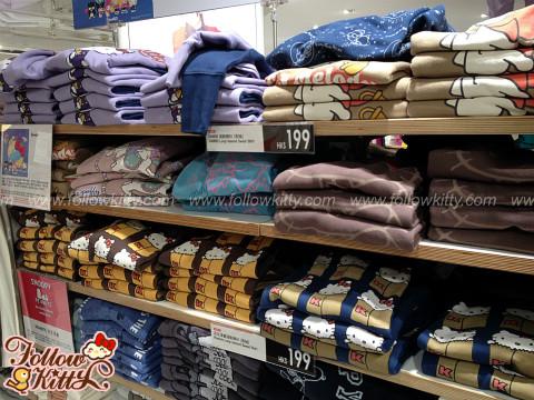 UNIQLO X Sanrio Sweat 2013 Autumn Collections