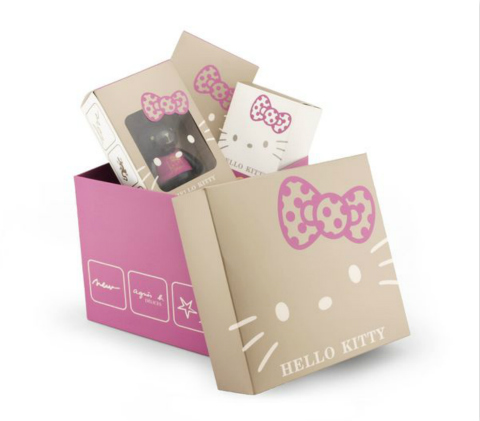 agnès b. DÉLICES x Hello Kitty Limited Lapin Gift Set