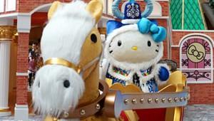 Hello Kitty 2013 Xmas Langham Russia Exhibition Small