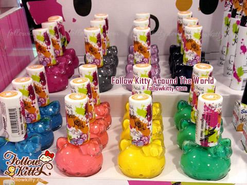 Hello Kitty彩妝 ﹣ 指甲油