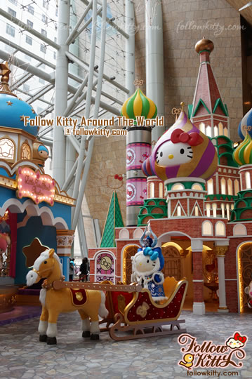 Hello Kitty and Her Friends in Russia (Xmas Exhibition 2013 in Langham Place)