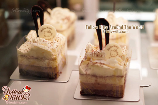 Dessert from Hello Kitty Le Petit Café