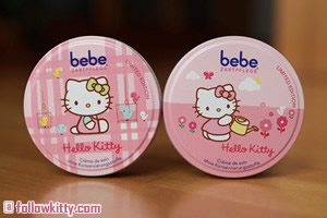 Hello Kitty Limited Edition BeBe Tender Care Cream Small