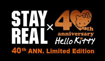 Stay Real推出紀念Hello Kitty40週年限量版T恤