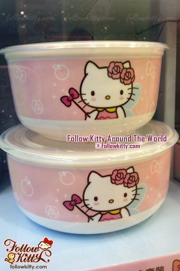 Hello Kitty x 鴻福堂微波爐碗套裝