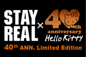 Stay Real Hello Kitty 40th Anniversary Small