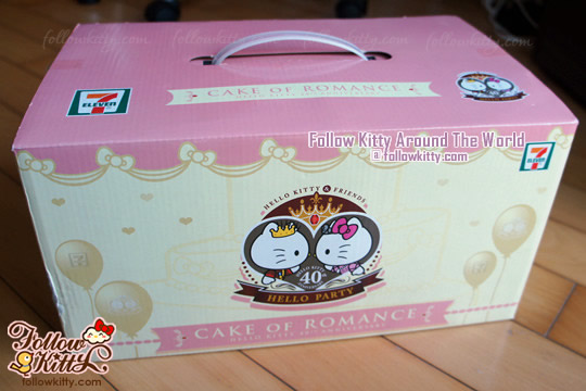 Hello Kitty Toys For Cakes : Unboxing my hello kitty party quot cake of romance