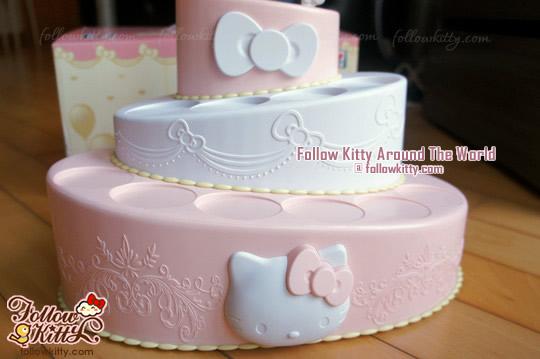 Hello Kitty & Friends [Hello Party]蛋糕座陳列架 Cake of Romance