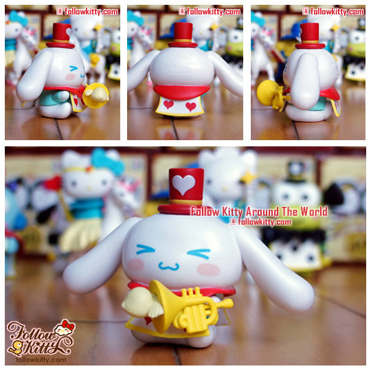 Hello Kitty & Friends [Hello Party]快樂童話系列﹣Cinnamoroll紅心爵士