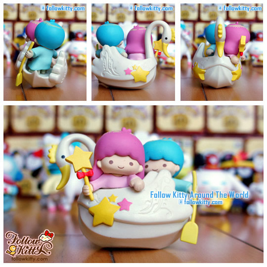 Hello Kitty & Friends [Hello Party]快樂童話系列﹣Little Twin Stars天使