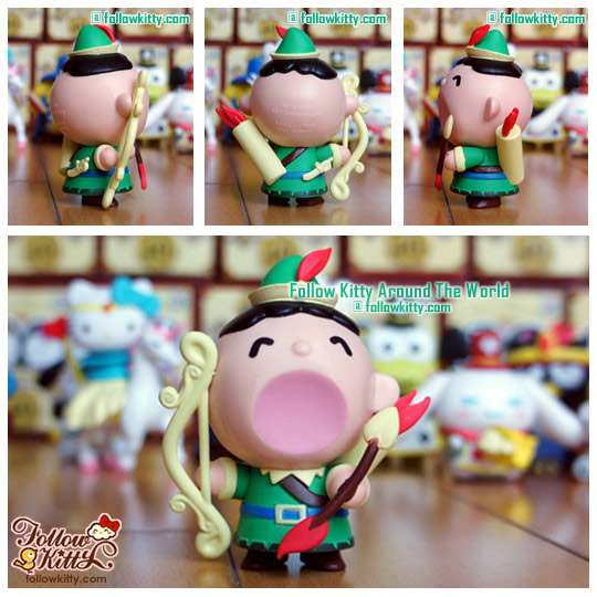 Hello Kitty & Friends [Hello Party]快樂童話系列﹣Minna No Tabo弓箭手