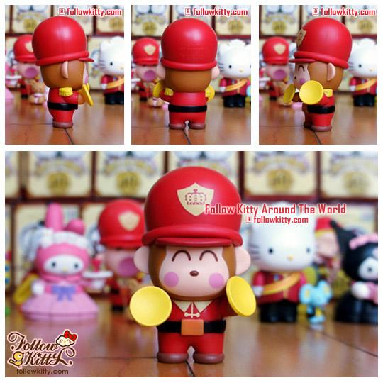 Hello Kitty Hello Party華麗慶典系列﹣Monkichi樂師