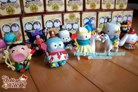 7-Eleven Hello Kitty & Friends [Hello Party] Phase 2 - Happy Fairy Tale Set