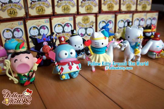 香港7-11 Hello Kitty & Friends Hello Party快樂童話系列