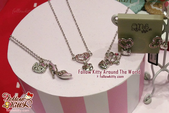 Ans x Hello Kitty Necklaces and Earrings