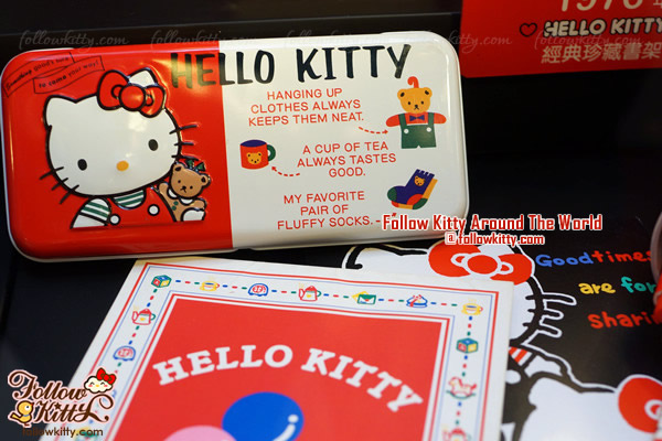 Windsor House Hello Kitty 40th Anniversary Exhibition - Pencil Box